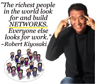 Robert Kiyosaki über Netzwerke