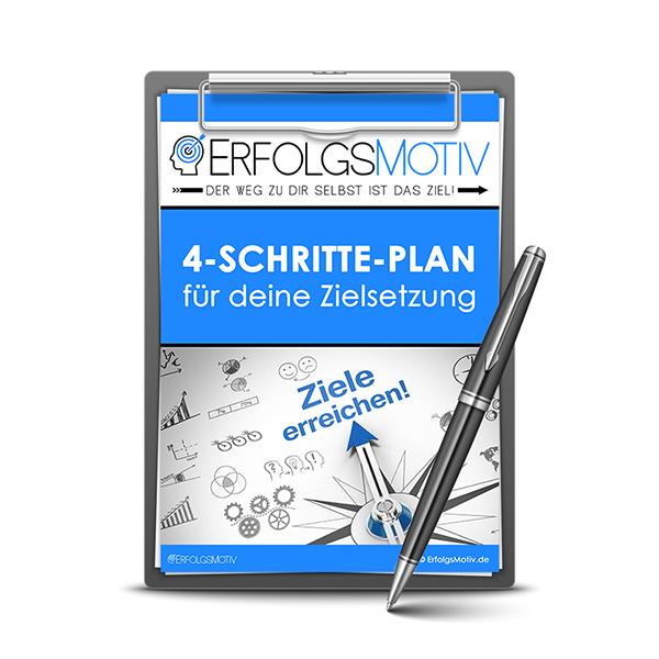 ErfolgsMotiv 4-Schritte-Plan Zielsetzung (Startseite)